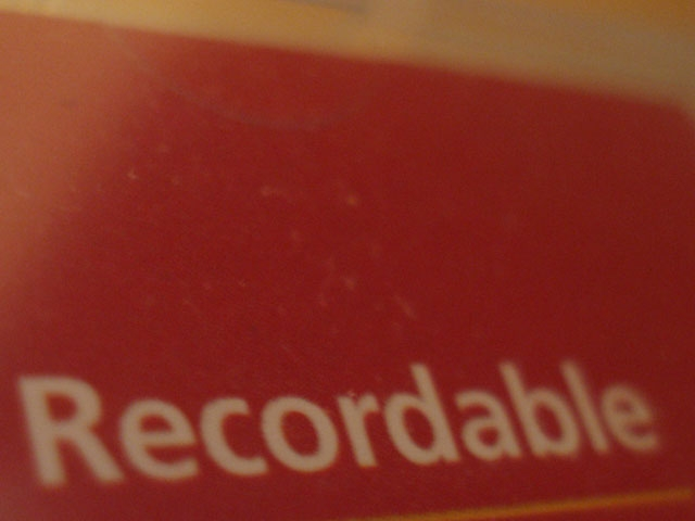 recordable