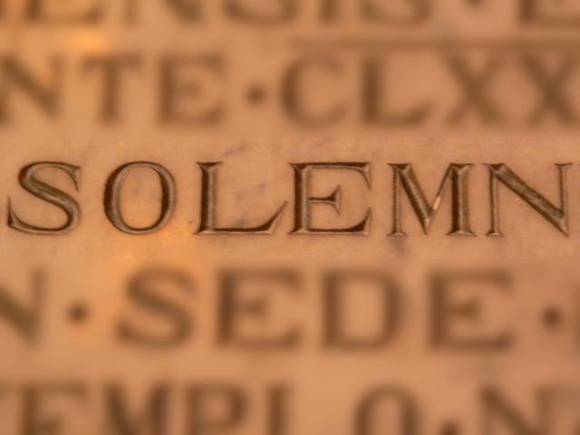 solemn