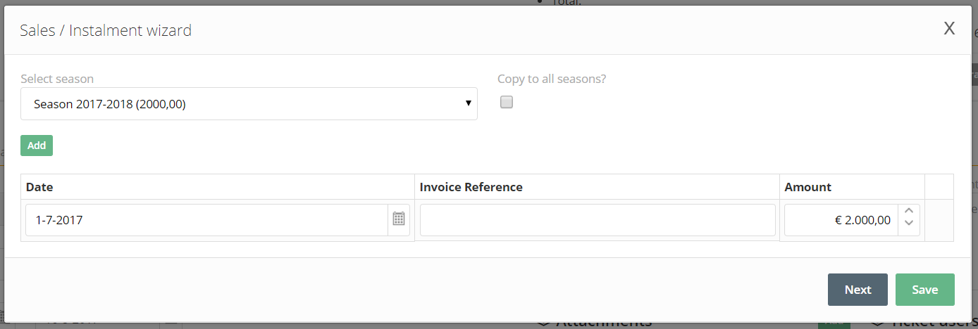 Adding An Invoice Reference When Creating Installments IXpole - Invoice reference