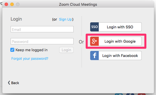 How do I log in to Zoom? - Student TEL Help Centre