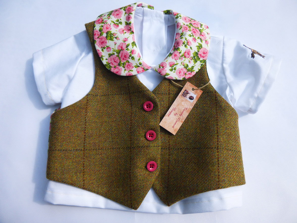 Child Tweedy Wasistcoat