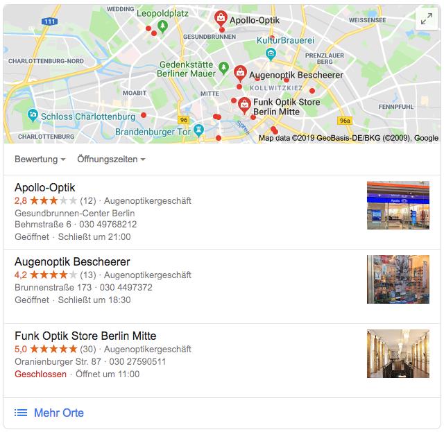 uberall blog screenshot Google pack