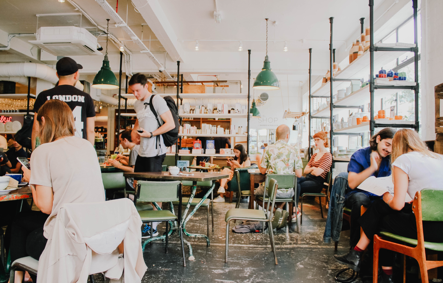 Location Marketing helps store operators bringing more foot traffic to the shops.