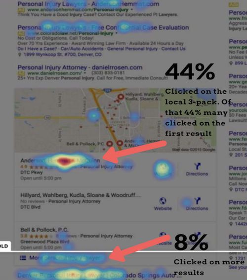 uberall blog screenshot heatmap