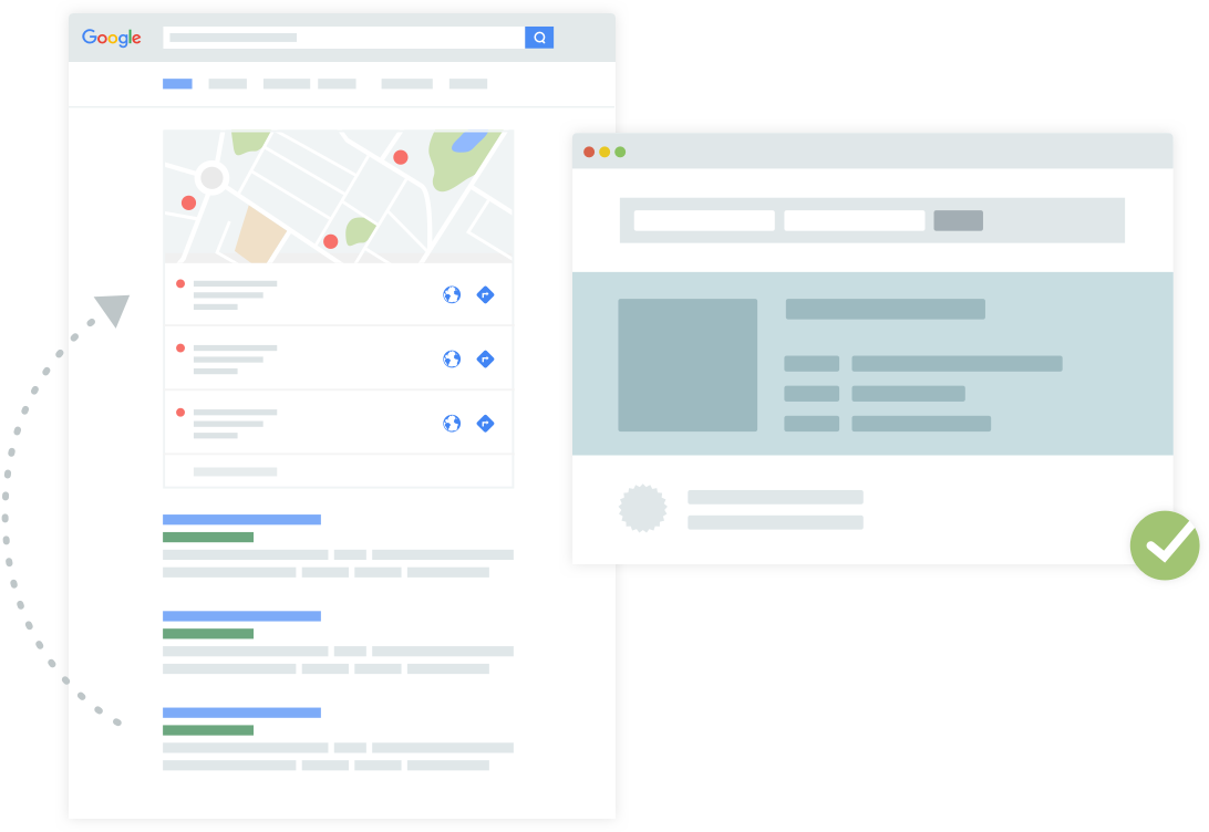Having correct listings across all plattforms improves the visibility of a store on local search.