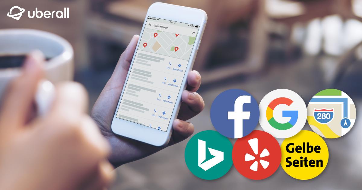 Uberall blog image: 6 Online-Verzeichnisse, die für Ihr Location Marketing unverzichtbar sind