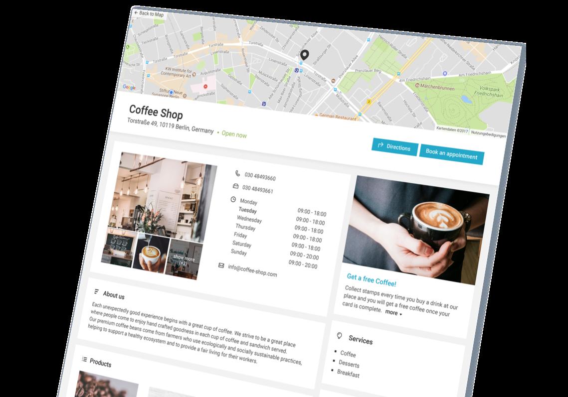 Uberall Locator website image 3