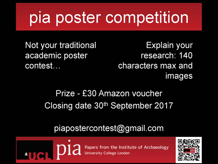 PIA Poster Competition