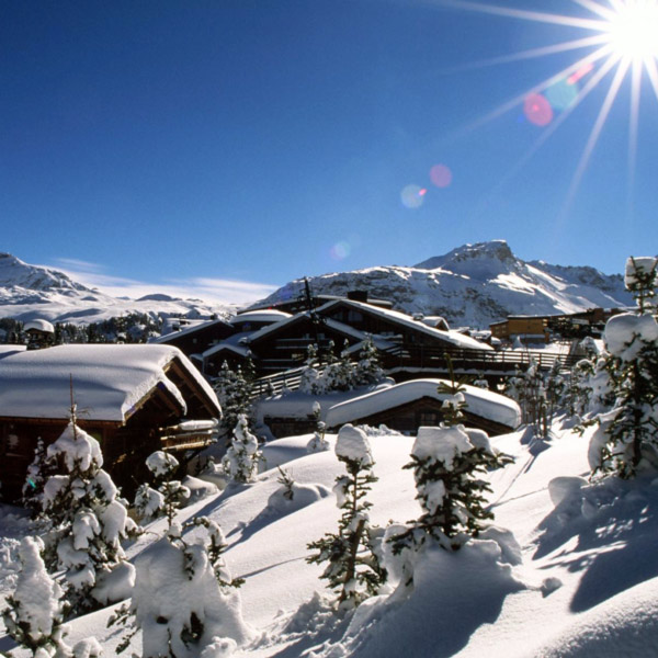 Transfer till Courchevel