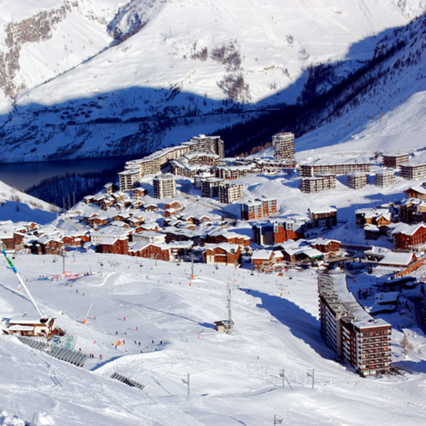 Transfer to Tignes