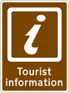 Location of a Tourist information point or centre