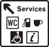 Direction to services with details of the services provided