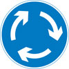 Vehicles entering the junction must give way to traffic to vehicles coming from the right