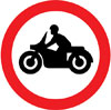 Solo motor cycles prohibited
