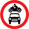 Motor vehicles prohibited