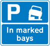 Vehicles may be parked partially on the verge or footway in marked bays