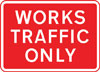 Temporary access to a construction or road works site