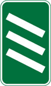 300 yards to a roundabout or the next point at which traffic may leave a primary route