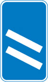200 yards to a roundabout or the next point at which traffic may leave a route
