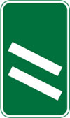 200 yards to a roundabout or the next point at which traffic may leave a primary route