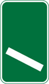 100 yards to a roundabout or the next point at which traffic may leave a primary route