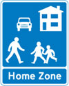 Start of a designated home zone