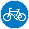 Route for use by pedal cycles only