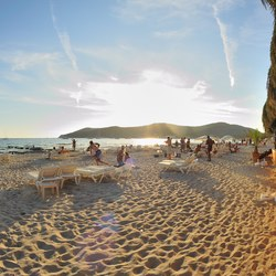 Las Salinas beach
