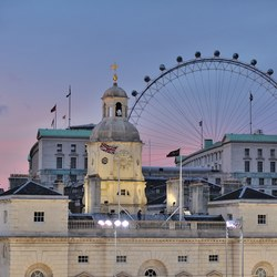 Whitehall and the London Eye
