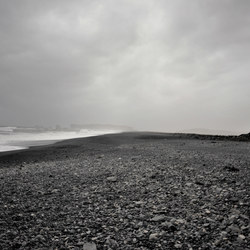 Bleak beach