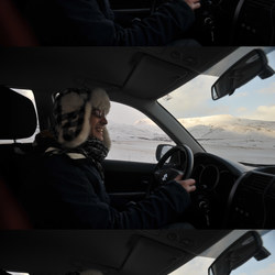 Driving montage