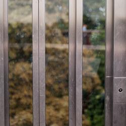 Strange lift doors
