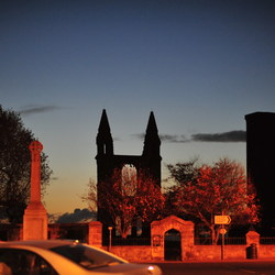 Sunrise over the cathedral