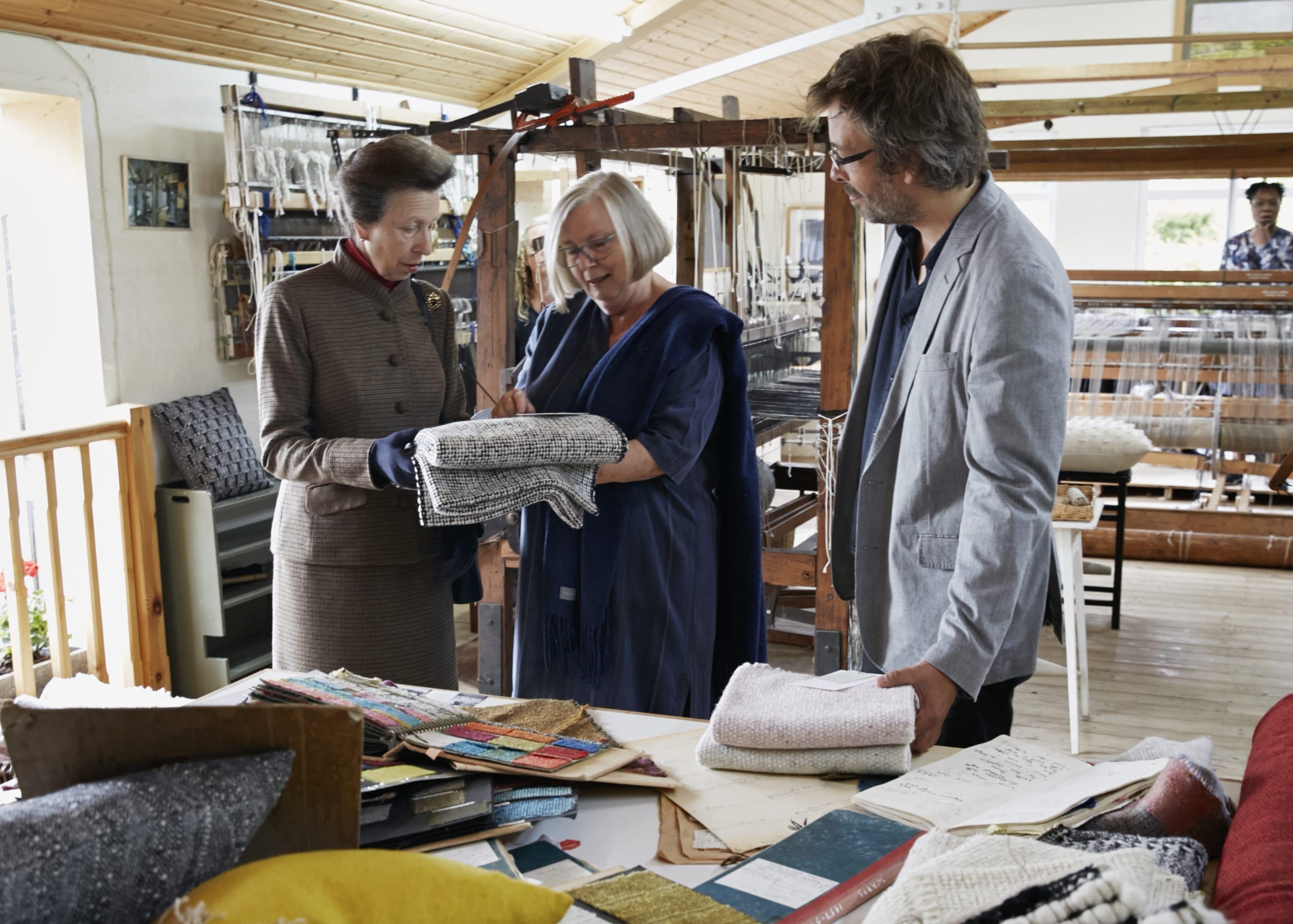 Royal Visit To Mourne Textiles Northern Ireland Ukft