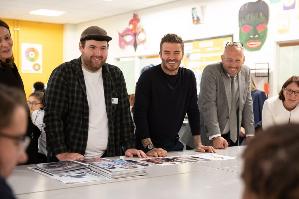 David Beckham Launches Fashion Studio Assistant Apprenticeship Ukft