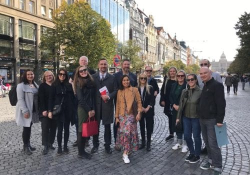 UKFT fashion and textile CEE mission to Prague