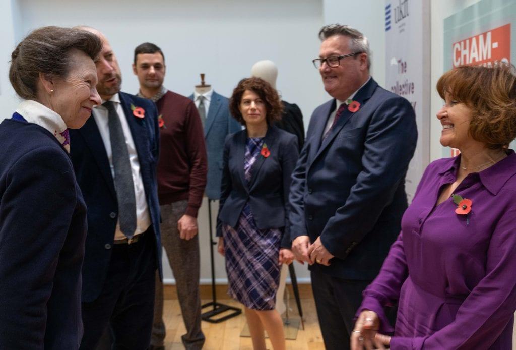 HRH The Princess Royal visits UKFT
