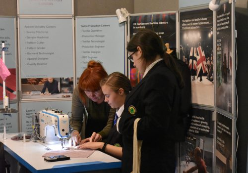 Promoting careers to young people at Skills Yorkshire