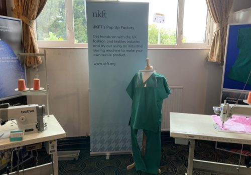 UKFT Pop-Up Training School for Covid-19 Volunteer Sewing Machinists
