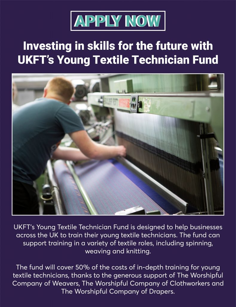 UKFT's Young Textile Technician Fund