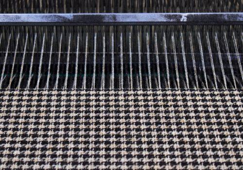 Abraham Moon weaving