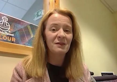 Margaret Macleod of Harris Tweed Hebrides
