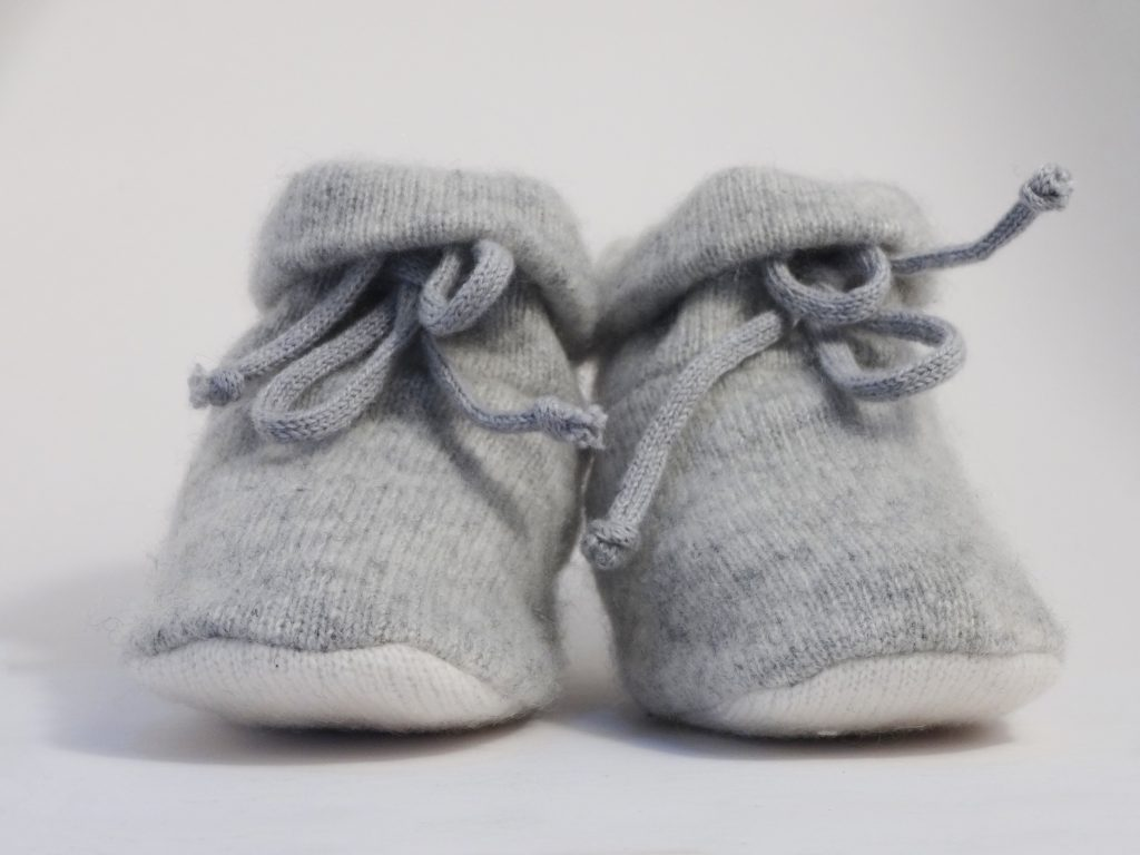 Cashmere Circle Booties