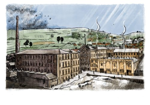 Standeven Ladyship Mill Drawing