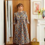 Justine Tabak in the Greenwich Dress