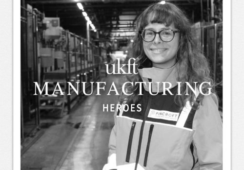 Louise Becart - Manufacturing Heroes Carrington and Pincroft