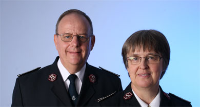Commissioners André and Silvia Cox have been appointed as Territorial Leaders