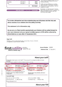 First_utility