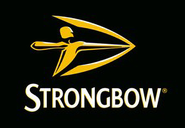 Sponsored by Strongbow FOD Spon Logo
