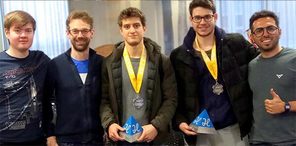 StudentHack V Manchester hackathon Best VR Hack Ultrahaptics technology